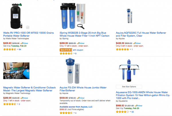 best sellers of water softeners customer reviews discounts