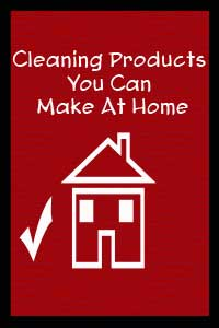 Diy cleaning products you can make at home cha ching queen for Products you can make at home