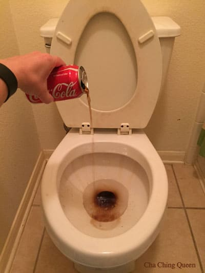 How to Clean a Toilet with Coke or Cola
