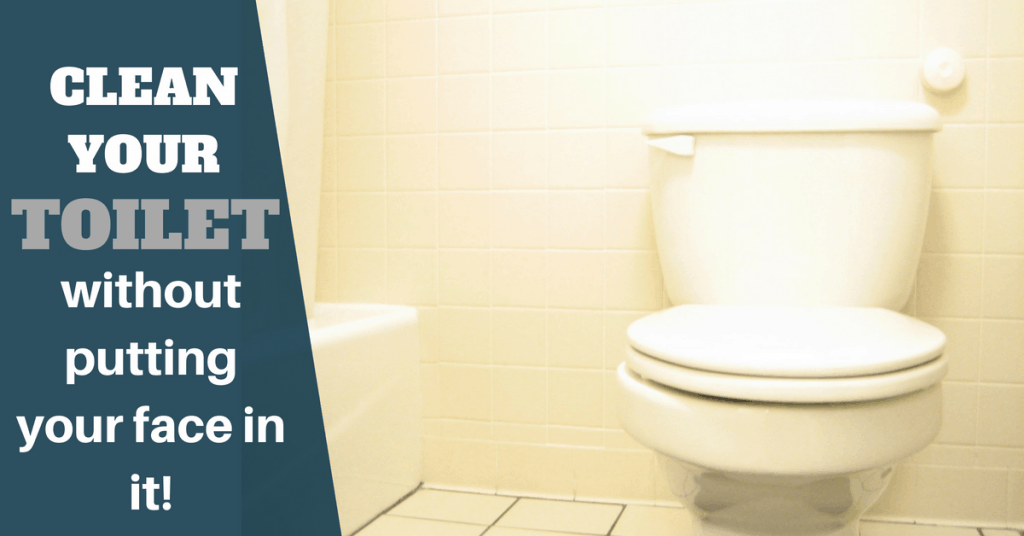 how to clean your toilet