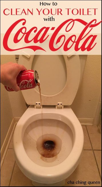 How to Clean a Toilet with Coke (or other cola)