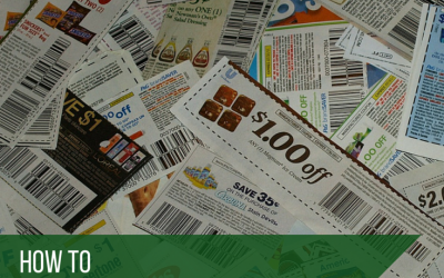 how to get companies to send you coupons