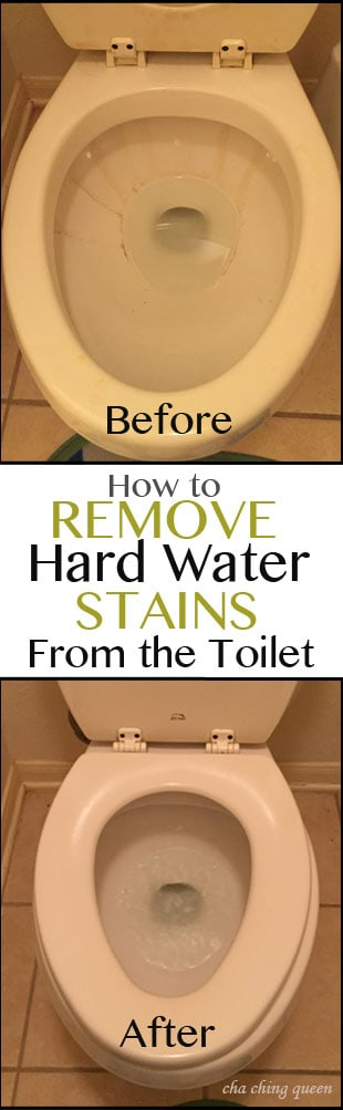 How To Remove Hard Water Toilet Bowl Stains Easily And Quickly
