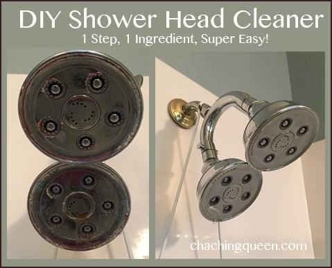 DIY Shower Head Cleaner - 1 Step, 1 Ingredient, Super Easy!