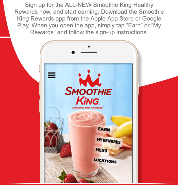 Smoothie King Coupons – Free Smoothies and More