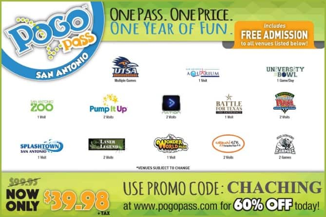 Free Tickets to Splashtown with San Antonio Pogo Pass COUPON CODE