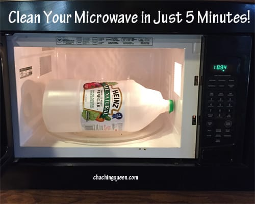 How To Clean Your Microwave With Vinegar And Steam Cha