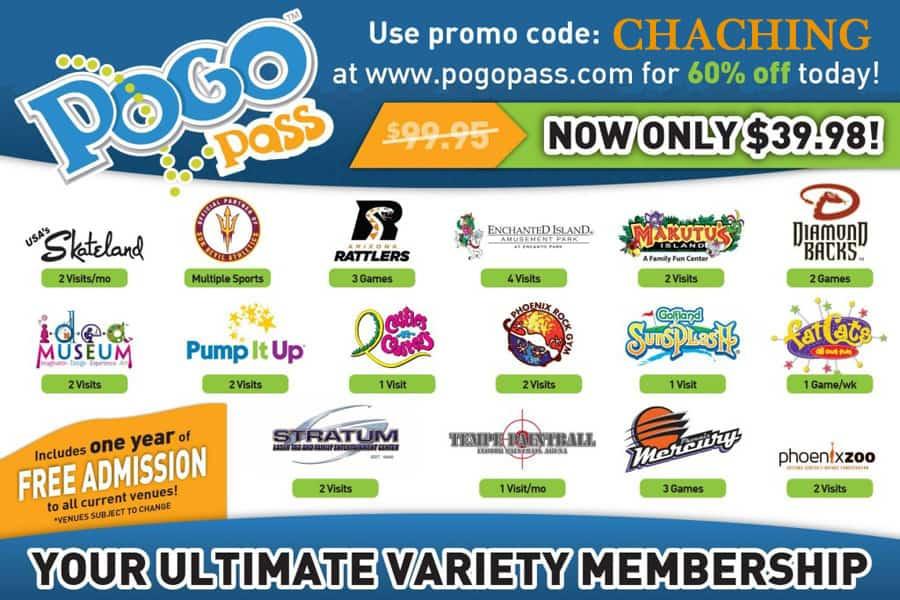cha ching pogo pass coupon code phoenix