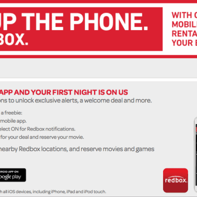 Redbox Coupon Codes for Discounts and Free Movie Rentals – 2017