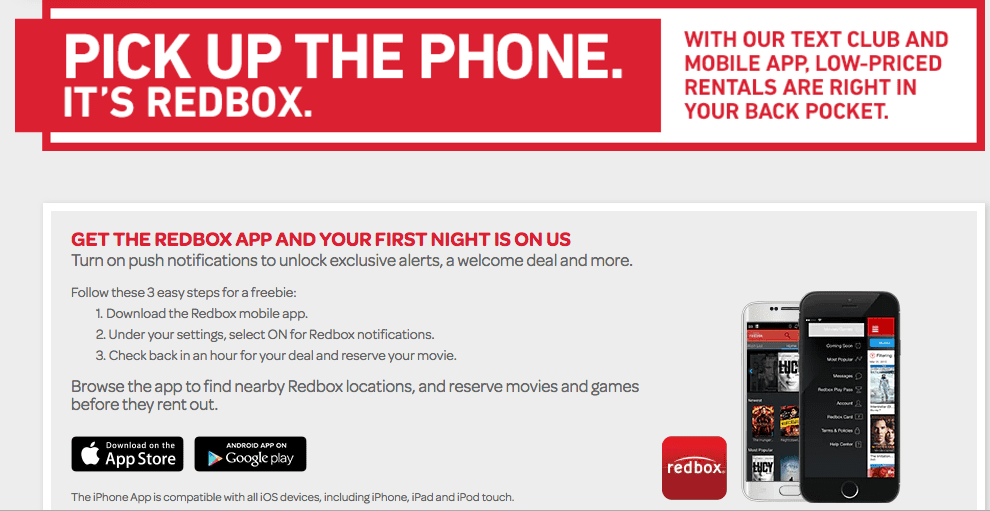 Redbox coupon code 2018