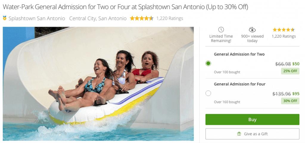 san antonio splashtown groupon deal 2018