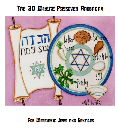 30 minute passover seder free FOR MESSIANIC JEWS AND GENTILES