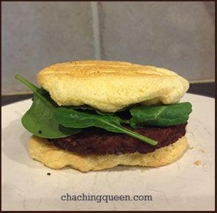 Cloud Bread Gluten Free Recipe - Hamburger Bun
