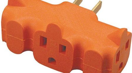 Deal on 3-Outlet Heavy-Duty Grounding Adapter