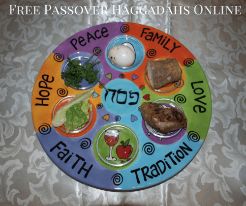 make your own passover seder plate