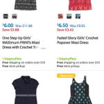 Girls Sleeveless Dresses $6 Each on Clearance