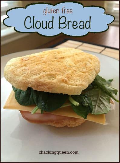 Gluten Free Cloud Bread Recipe
