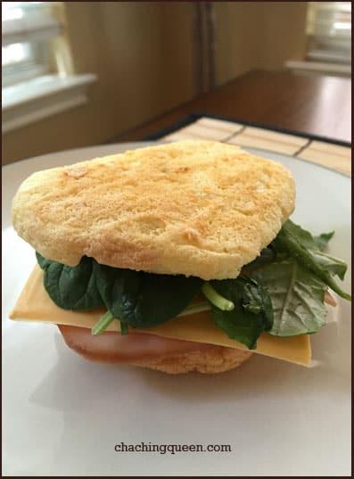 Cloud Bread Gluten Free Recipe - Sandwich Bread