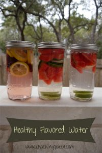 Healthy Flavored Water Fruit Infused Water at Home
