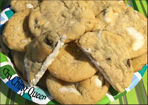 Surprise Cream Filled Chocolate Chip Cookies Icing Inside Recipe