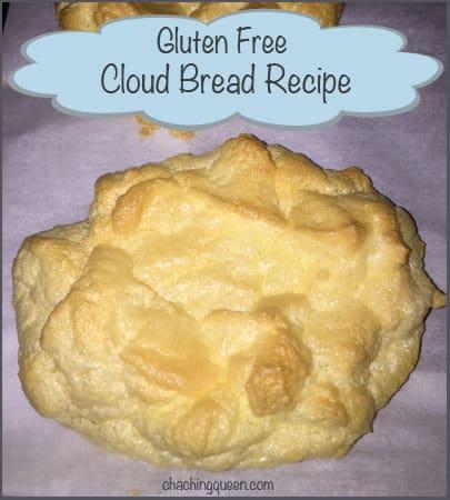 Dairy Free, Gluten Free Cloud Bread Recipe