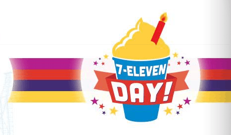 july 11 7 eleven day six flags coupon for 7.11 admission ticket 2016