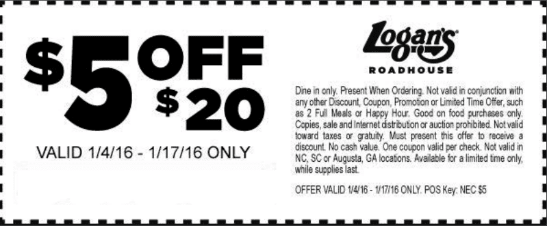 ezeciris.ml – Coupon code for $3 off at Logan's Roadhouse. Your feedback is important to Logan's Roadhouse, tell them what you think by visiting ezeciris.ml and entering the serial number from the bottom of your survey invitation or receipt. Answer questions on what you thought on your recent visit to Logan's including the service and quality of food.