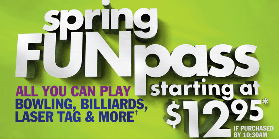 main event deals - spring funpass