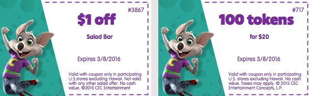 march 2016 chuck e cheeses printable coupons