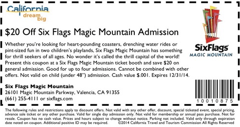photograph relating to Six Flags Printable Coupons identified as How toward take a discounted upon 6 flags tickets - Occupied Discount coupons