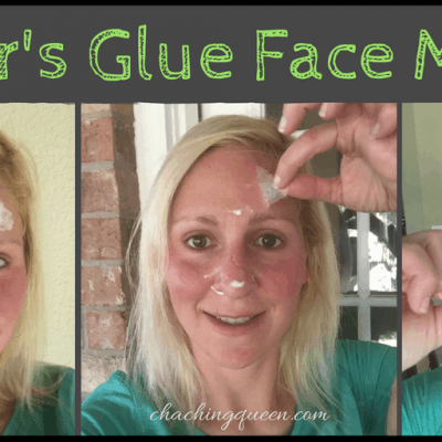 Why I put Elmers Glue on my face