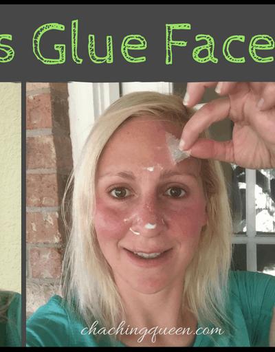 Elmer's Glue Face Mask-