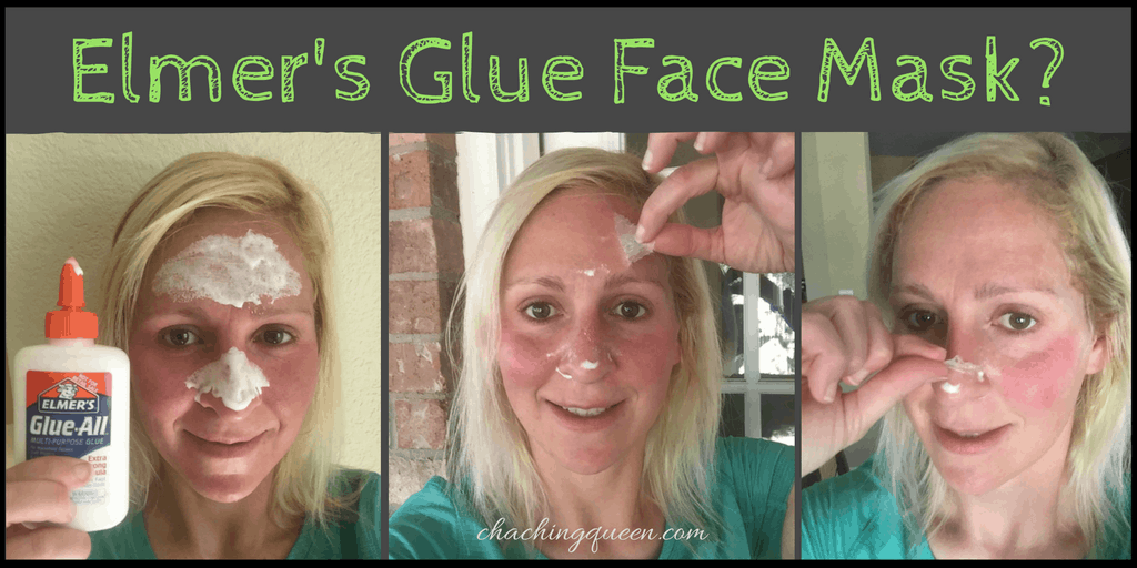 Elmer's Glue Face Mask-