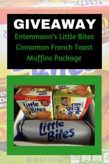 Entenmann's Little Bites Cinnamon French Toast Muffins Package