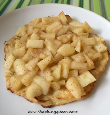 Paleo Gluten Free Cauliflower Pie with Apples Recipe