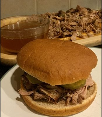 Slow-Cooker Pork Sandwiches Recipe – Tonight's Meal was a Hit