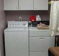 using vinegar in the laundry room