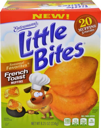 Review and Giveaway – Entenmann's Little Bites Cinnamon French Toast Muffins Package