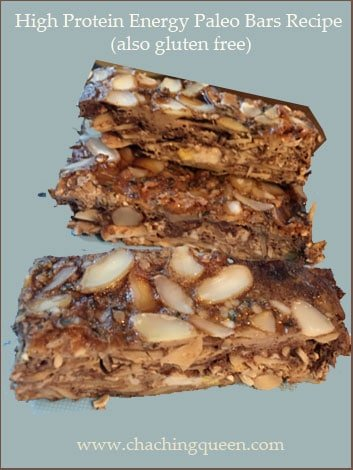 High Protein Energy Paleo Bars Recipe (gluten free) - with ...
