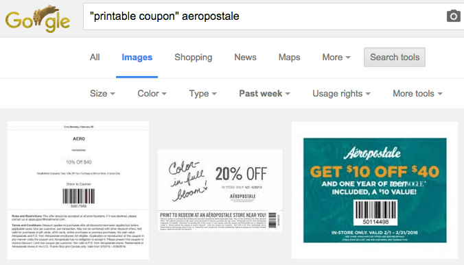 image search printable coupon aeropostale current google search