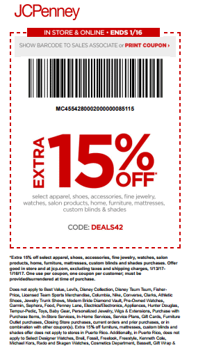 jcpenney printable coupon january 2017