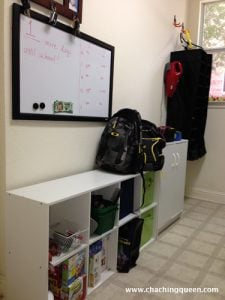school lunches organization shelves whiteboard - Back to School Money Saving Tips