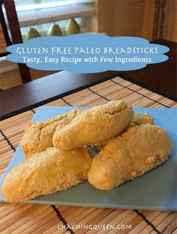 Recipe for Gluten Free Breadsticks