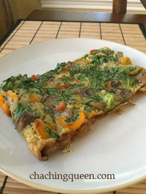 Clean-out-the-fridge Healthy Breakfast Casserole (Paleo and gluten free)
