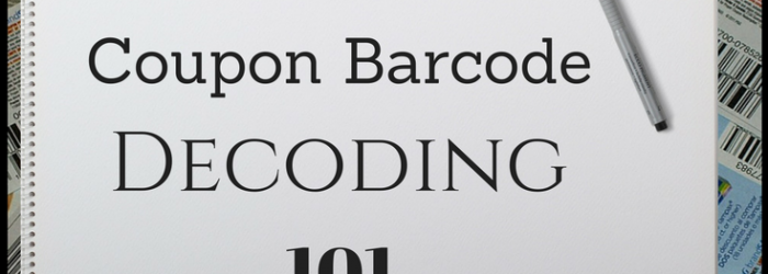 Coupon Barcode Decoding 101 - How to read a coupon barcode