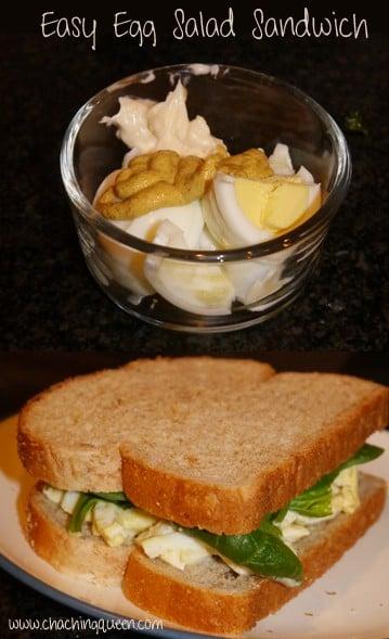 Egg Salad Sandwich Recipe Easy Healthy