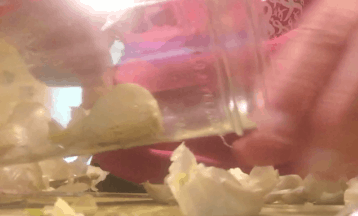 How to Easily Peel Garlic - Fast Kitchen Tricks and Tips to Save You Time - glass jar shake