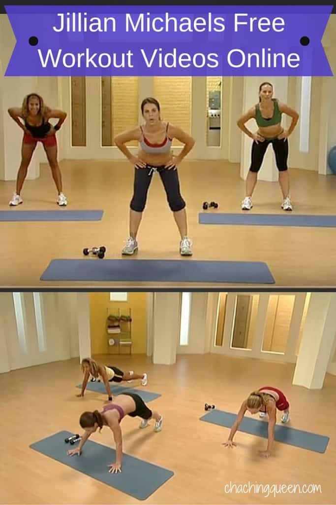 Jillian Michaels Free Workout Videos Online - Health Fitness Save Money