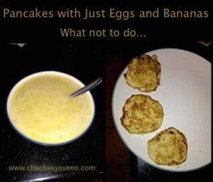 Pancakes with Just Eggs and Bananas Recipe Image