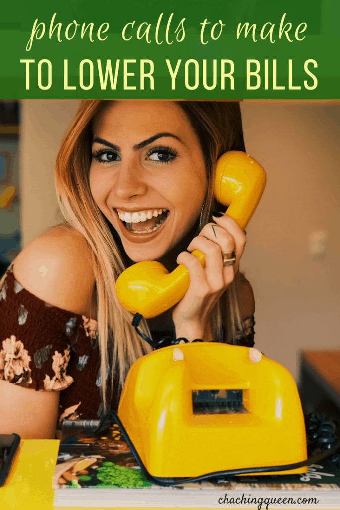 Phone Calls to Make to Lower Your Bills - Frugal Living
